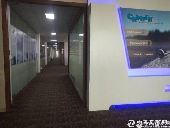 石岩北环新出原房东豪华精装修2600平厂房出租