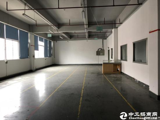 石岩地铁口附近精装修厂房1800平招租