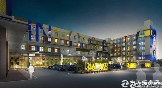 横岗高薪产业园2-3楼每层1380平厂房出租可分租