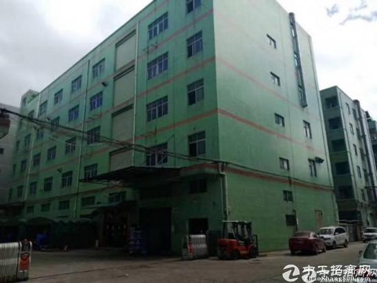 布吉新出红本独门独院带现成行车五层8400平厂房