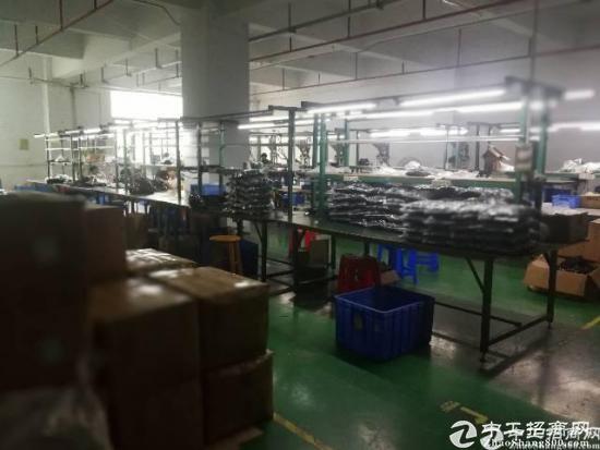 横岗六约整层带装修2300平米厂房出租