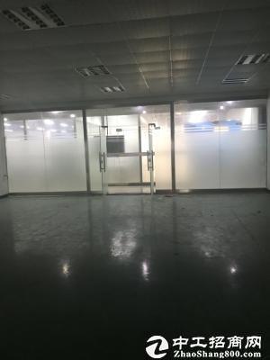 南山西丽大学城地铁口新出870平精装修厂房出租