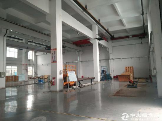 原房东 重工业标准厂房一楼2300平方9.5米高