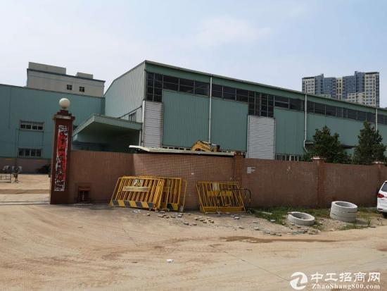 龙岗 中心城附近独栋11米钢构招租 8000平米大小可分租