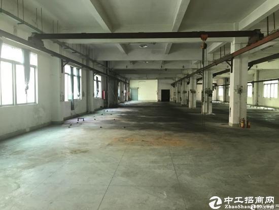 横岗六约一楼1200平带行车原房东独院厂房出租