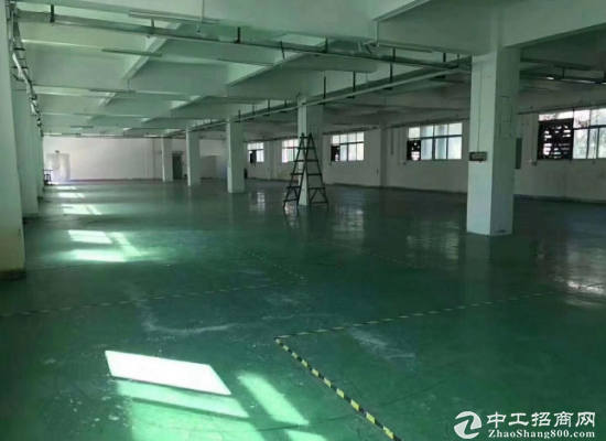 坂田近地铁口200米带装修500平厂房出租
