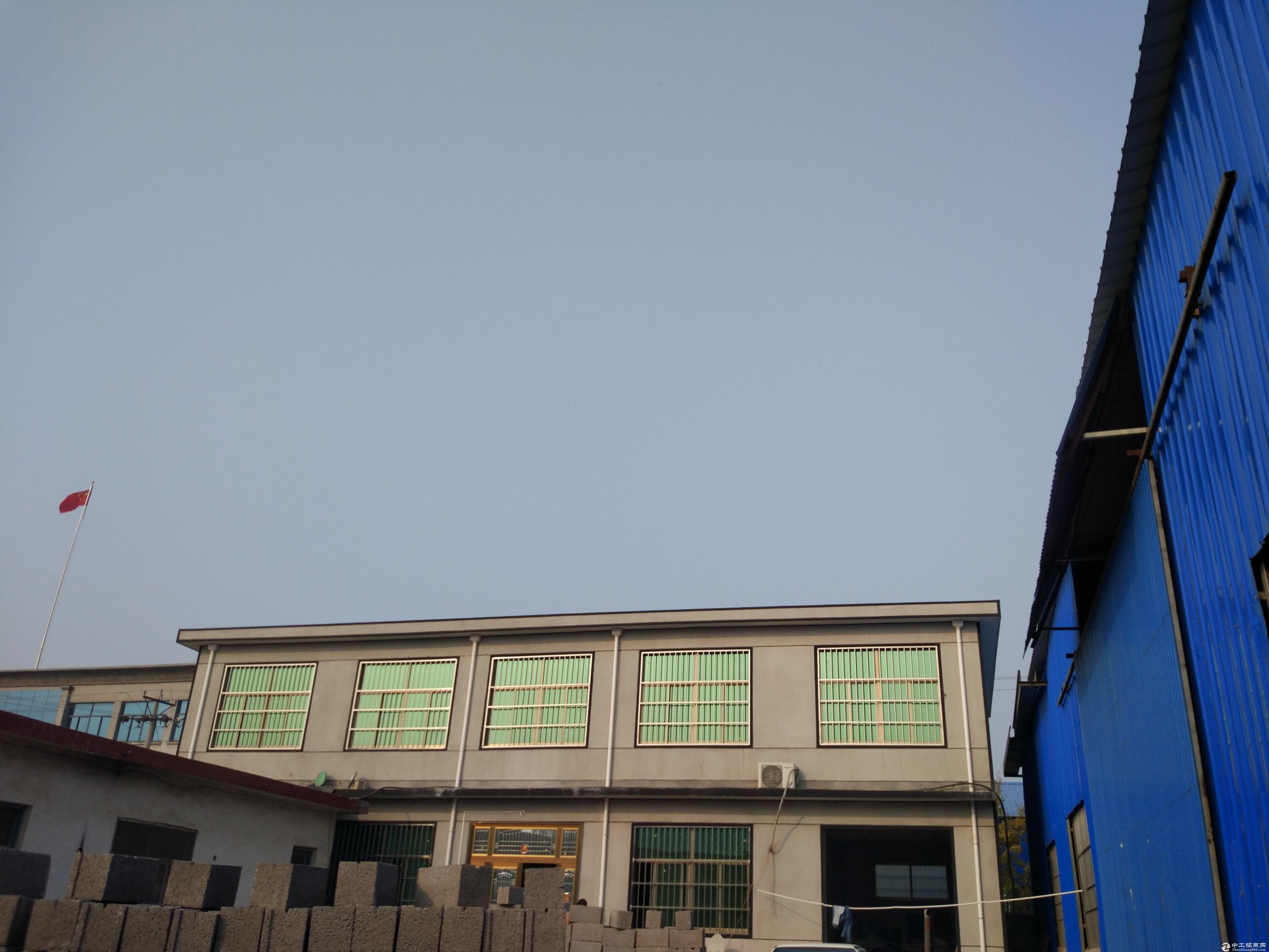 临沂兰山区义堂镇新建2000-3000平米标准钢结构厂房出租-图2
