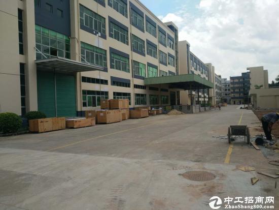 坪山新区石井比亚迪旁二楼厂房1200平米出租图片2
