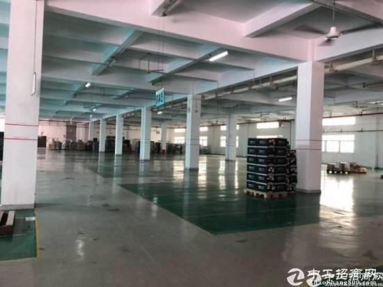 福永 福州大道旁大工业区2000平一楼厂房出租