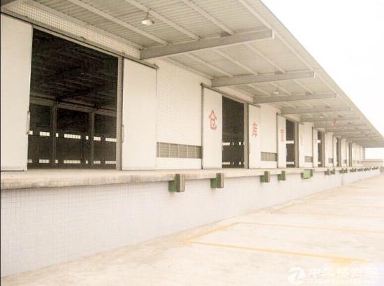 横岗独院钢构仓库 6800平 卸货平台