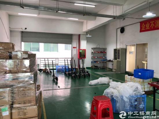 西丽阳光工业区原房东楼上1650平带装修厂房招租