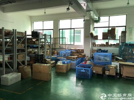 西丽阳光工业区原房东楼上1650平带装修厂房招租-图3