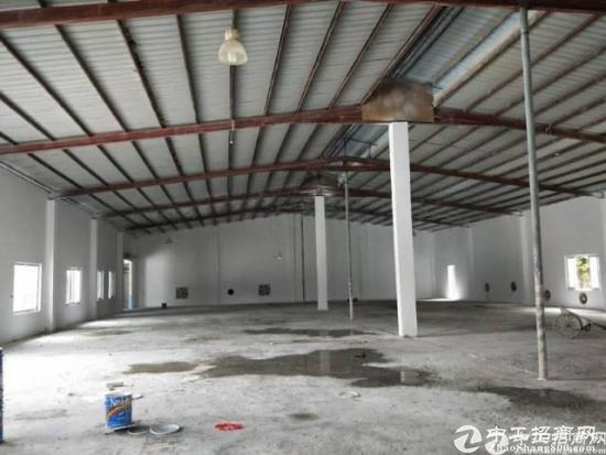 坪地独院钢构厂房+宿舍约5000平米,滴水5米,-图4