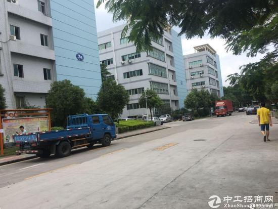 石岩北环原房东红本产业园2楼整层2750平米厂房出租-图9