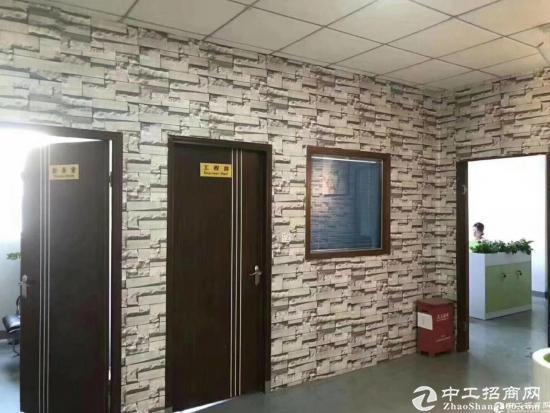 石岩汽车站新出原房东红本楼上单层面积1500精装修厂房出租-图7