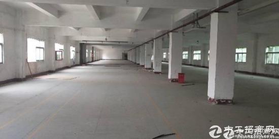 横岗新出六约一楼厂房1800平高度5米空地大