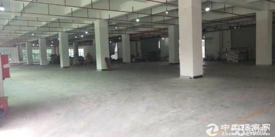 横岗安良独院13万平高新厂房,空地大形像好合同期长