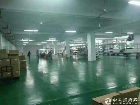 坪地楼上1200平米厂房出租,带装修办公室招租