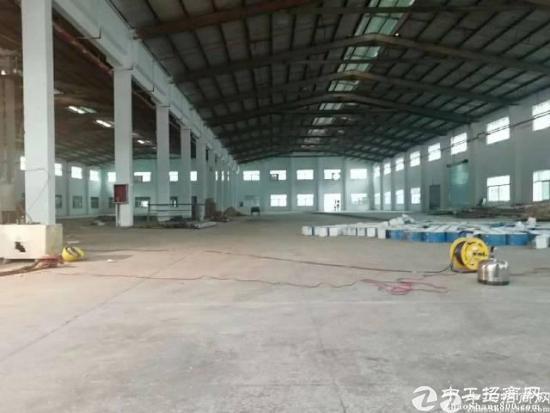 坑梓原房东红本钢构厂房2300平米招租~高12米
