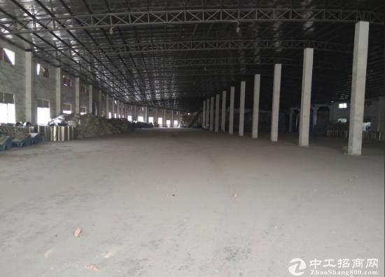 白花6000平钢构厂房招租 原房东面积可实量配电按需