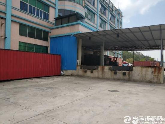 四联红棉路边专业食品仓空出2500平一楼层高六米