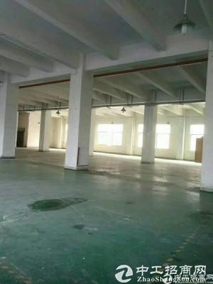 龙岗横岗 荷坳原房东一楼标准厂房5米5实际面积1600米