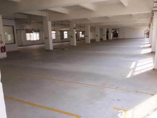 横岗 六约标准厂房二楼1200平实际面积招租