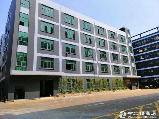 坪山深汕路边新出3楼1200平米原房东厂房16元