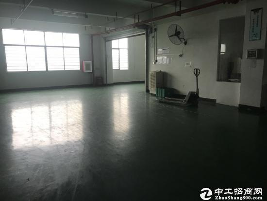 坪山深汕路边新出3楼1500平米原房东厂房14元