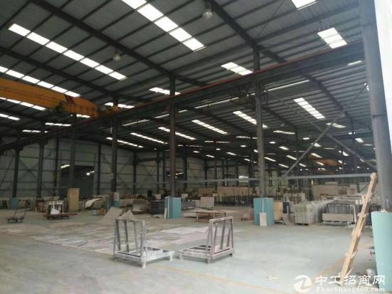 坪山比亚迪旁边新出单一层钢构厂房2310平滴水10米带