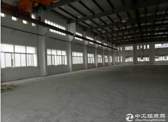 欧邓八成新单一层钢构厂房1300平带办公室