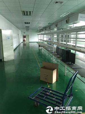 宝龙同乐新出厂房1200平米现成装修空地大可分租