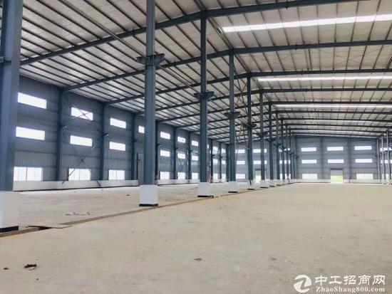 桥头全新钢构重工业厂房面积68270平米白菜价出租