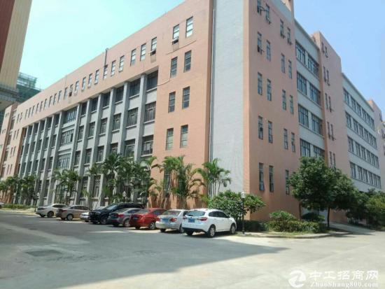 东莞谢岗全新产业园招租 1000起分 带红本 2部3吨电梯