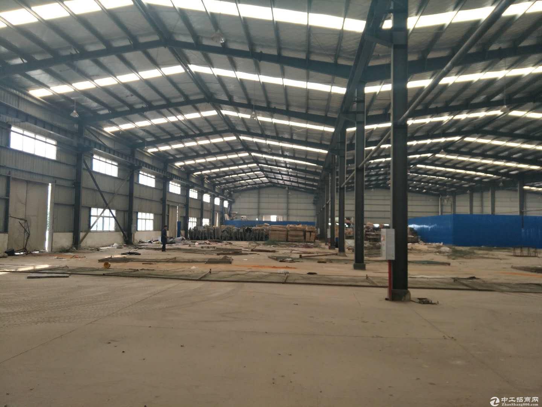 武汉东西湖吴家山开发区6000平米钢结构厂房