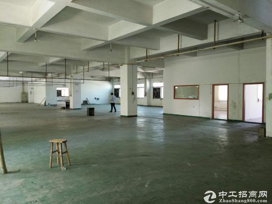 厚街镇原房东环评过关小独院3层3500平方厂房出租,位于成熟工业区
