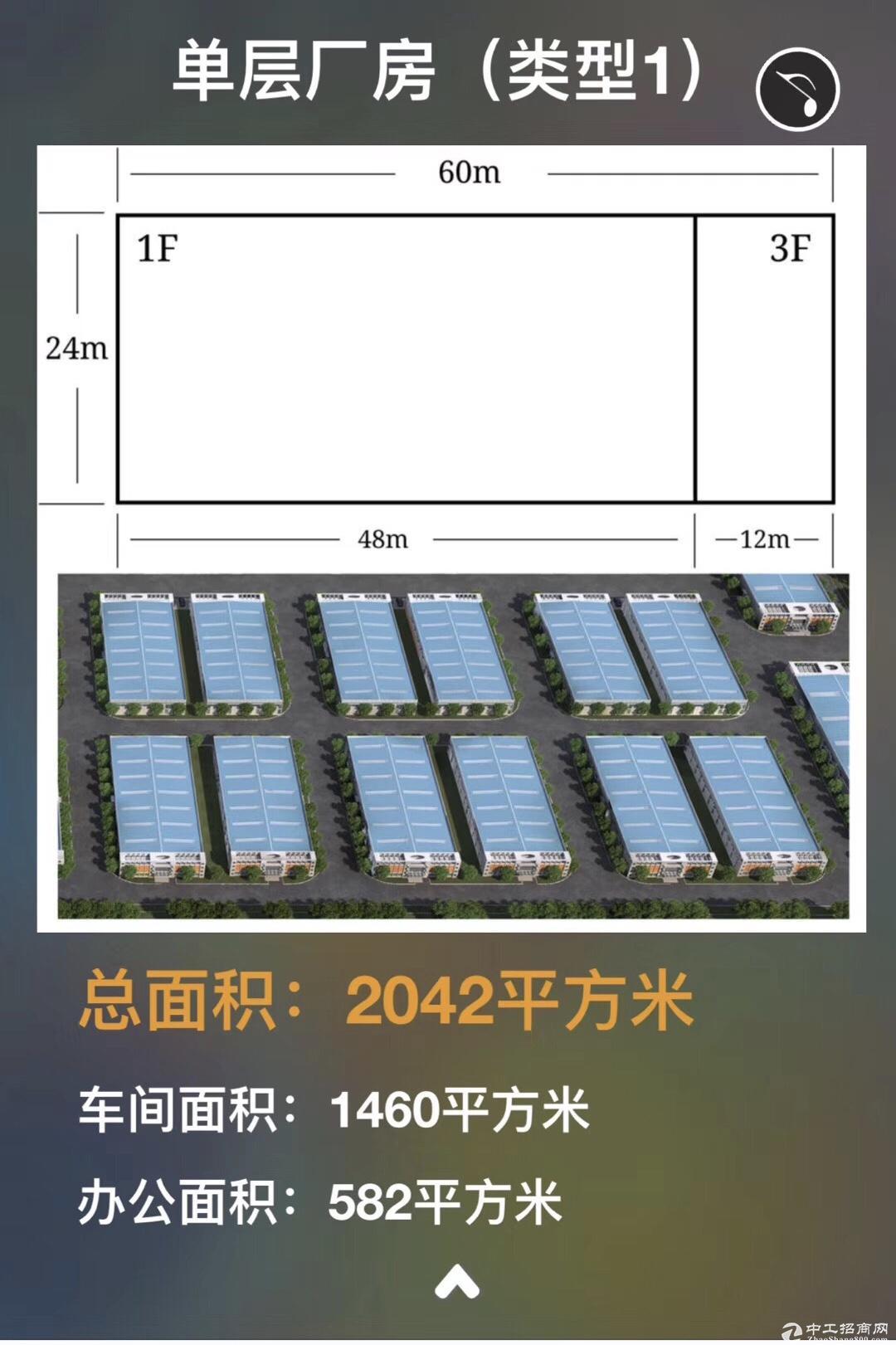嘉兴新建独栋单层、双层、双拼厂房出售