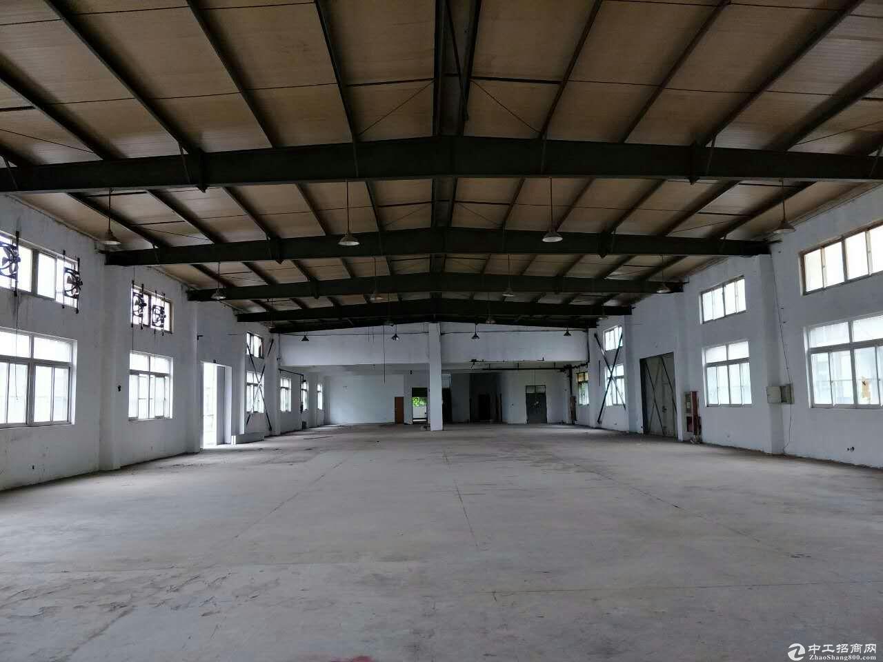 松江车墩720平米全单层厂房出租位置好