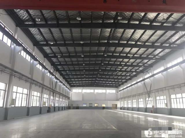 新建独栋连体全单层厂房5600平米,高14米