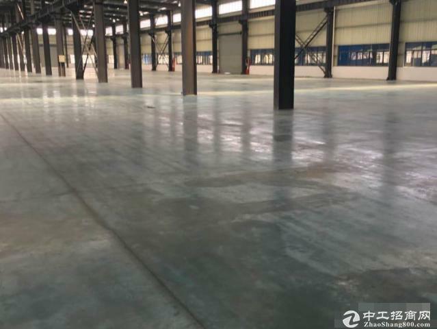松江大房东独院7611平米独栋单层厂房有行车