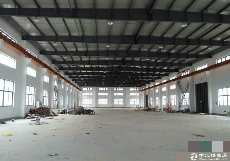 车墩独栋全单层5000平米厂房有行车可分割
