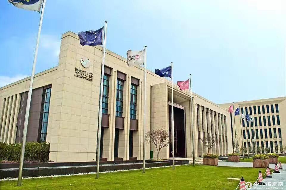 锡山省道旁新建产业园区工业厂房