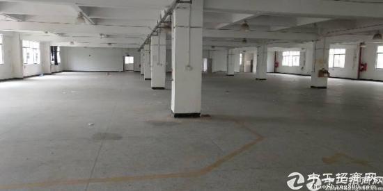 横岗独院厂房11000平放租有卸货平台两部三吨货梯