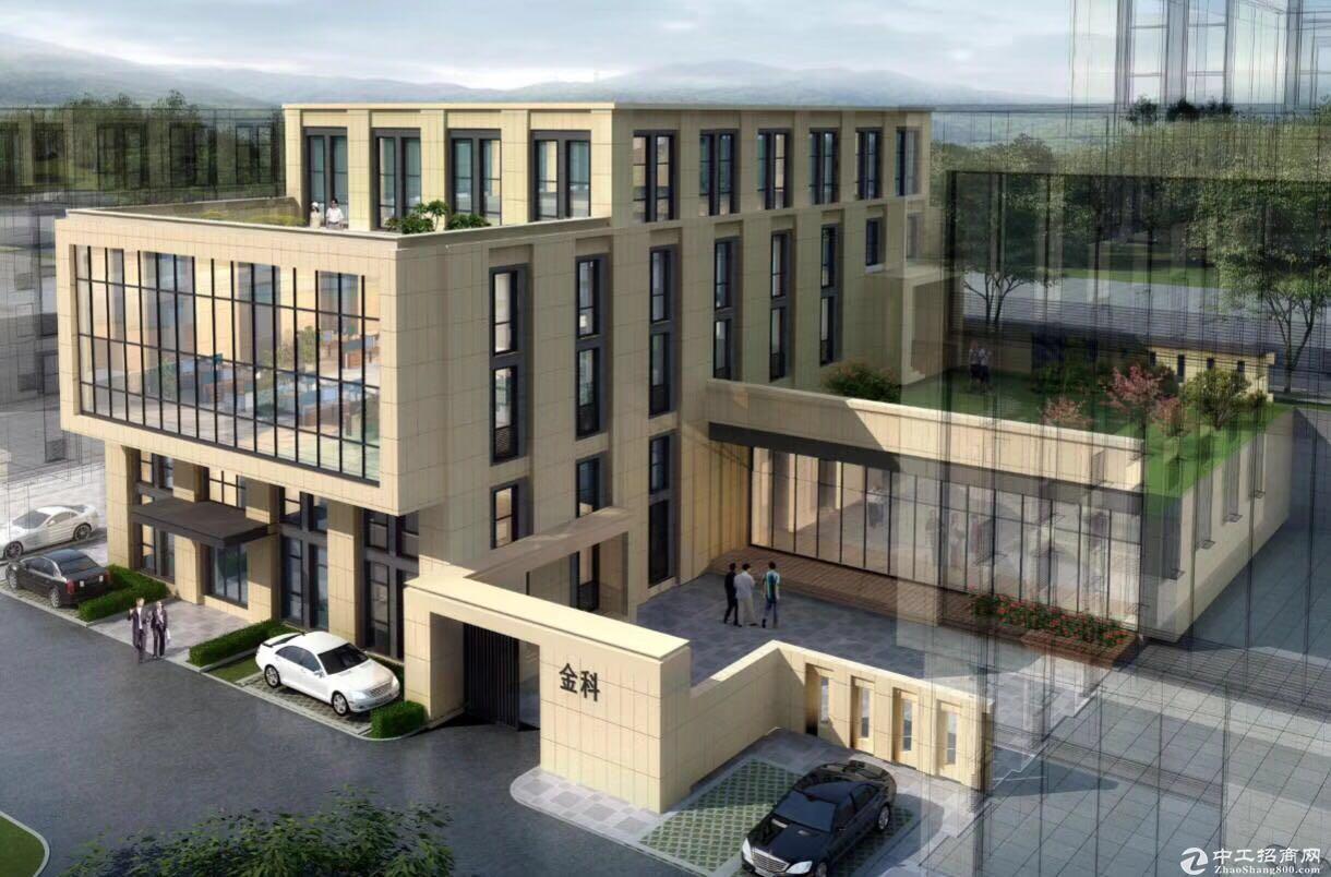 金科开发商直售独栋生产研发办公厂房,挑高6-7.8米