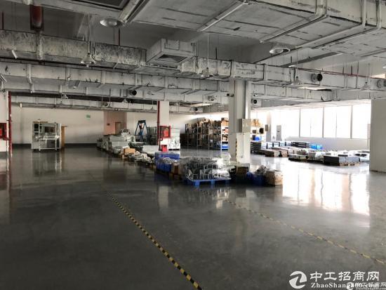 西丽地铁口独栋12500平花园式厂房(大小可分)
