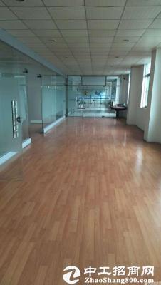 石岩北环新出楼上350平带装修厂房招租