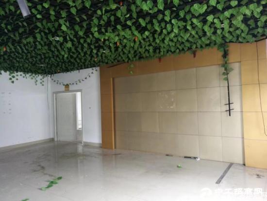 石岩北环新出楼上700平带精装修厂房出租