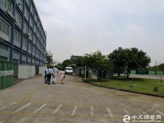 松岗燕川新出原房东厂房45000平方有红本带喷淋可过环评合同十年
