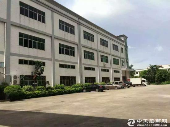 (出租) 松岗村委独院4200平米电子厂招租无公摊低价出租可办环评