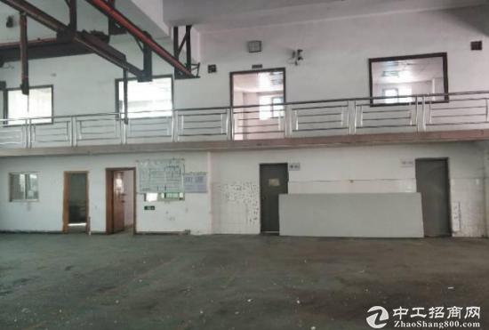 福永新和一楼1800平方带阁楼有行车重型工业厂房招租